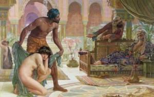 Barbary white slaves