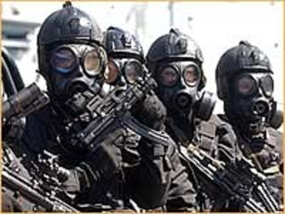 antiterror police in Sydney